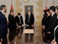 Başsavcı Yardımcısı Varol Cumhurbaşkanı Akıncı huzurunda yemin ederek göreve başladı