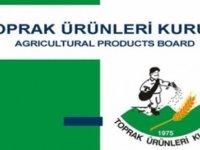 Toprak Ürünleri Kurumu, zahire alımlarına bugün başlayacağını açıkladı