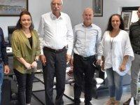 Güngördü, Başbakanlık Uyuşturucu ile Mücadele Komisyonu Başkanı Karaokçu'yu kabul etti