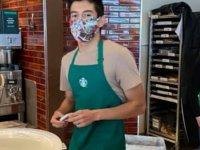 Maskesiz müşteriye hizmet vermeyen Starbucks çalışanı için 19 bin dolar bahşiş toplandı