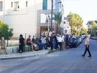 1 Temmuz kararı protestosu için vatandaşlar Dereboyunda toplanmaya başlandı