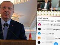 Erdoğan'ın YKS'ye girecek adaylarla yaptığı canlı yayına öğrencilerden tepki: 'OY MOY YOK SİZE'