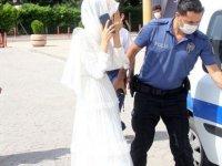 Zorla evlendirilmek istenen kadın nikah salonundan polis baskınıyla kurtarıldı
