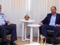 Özersay, Polis Genel Müdüru Manavoğlu'nu kabul etti