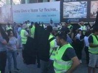 Birleşik Eylem Komitesi, Girne'den Lefkoşa'ya yürüyor