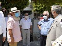 Cumhurbaşkanı Akıncı, Girne çarşısını ziyaret ederek esnaf ve vatandaşlarla bir araya geldi