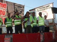 Esnaf, Zanaatkarlar ve Sektör Temsilcilerinin Oluşturduğu Birleşik Eylem Komitesi, Girne'den Başlattıkları Yürüyüşü Başbakanlık Önünde Tamamladı