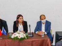 İçişleri Bakanı Ayşegül Baybars, Gazimağusa Merkez Muhtarlarıyla Bir Araya Geldi