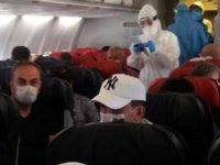 Türkiye'de Uçakta koronavirüs belirtileri gösteren yolcu hastaneye götürülerek karantinaya alındı