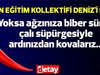 Kadın Eğitim Kolektifi:Ticaret Odası Başkanı Turgay Deniz derhal açıklama yaparak tüm kadınlardan özür dilemeli...