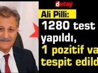 Sağlık Bakanı Dr. Ali Pilli:1 pozitif vaka tespit edildi