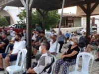 Akıncılar'da sınır kapısı için ilk kitlesel toplantı yapıldı