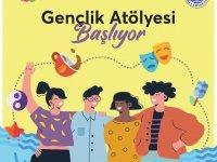 """Girne'de Gençlik Atölyesi Düzenleniyor """"Mesafeni Koru, Yaşama Katıl"""