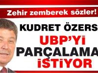 Üstel: Özersay UBP'yi parçalamak istiyor