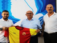 Özyiğit, Çetinkaya Türk Spor Kulübü yönetimini kabul etti