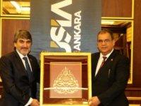 Sucuoğlu Müsiad Ankara üyeleriyle bir araya geldi