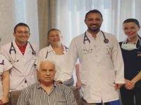 Eroğlu'na YDÜ'de stent takılıp, taburcu edildi
