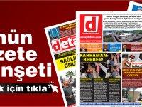 Detay Gazetesi bugün  ne manşet attı?  10 Ağustos 2020 Pazartesi