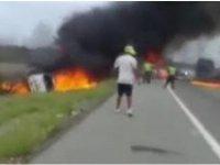 Kolombiya'daki Yakıt Tankeri Patlamasında Ölenlerin Sayısı 21'e Yükseldi