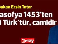 Tatar: Ayasofya 1453'ten beri Türk'tür, camidir