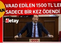 """Candan:  """"Esnafa vaad edilen 1500 TL'ler sadece bir kez ödendi"""""""