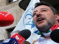 İtalyan Lig Partisi Lideri Salvını, Ayasofya'nın İbadete Açılmasını Protesto Etti