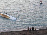 Van Gölü'nde teknenin batması sonucu kaybolan 1 kişinin daha cesedi bulundu
