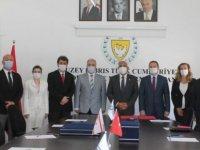 'TC Hükümeti ile KKTC Hükümeti Arasında Yapı İşleri Alanında Mutabakat Zaptı' imzalandı