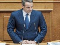 """Mitsotakis: """"Türkiye, Doğu Akdeniz'in sorun yaratan ülkesi olma arayışında"""""""