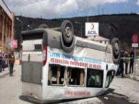 Diyaliz aracı kaza yaptı: 3 ölü, 5 yaralı!