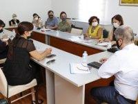 İki Toplumlu Sağlık Teknik Komitesi Kıbrıslı Türk Üyeleri Toplandı