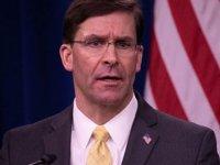 """ABD Savunma Bakanı Esper: """"Kore Yarımadasından Asker Çekilmesine Yönelik Talimat Vermedim"""""""