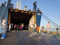 32 mülteci Türkiye'ye gönderildi