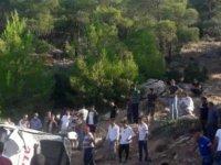 Mersin'de askerleri taşıyan otobüs devrildi: 5 asker hayatını kaybetti, 10 asker yaralandı