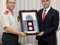 Meclis Başkanı Uluçay Tuğgeneral Altan Er ve Beraberindeki Heyeti Kabul Etti