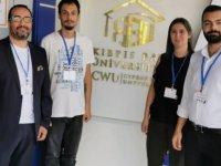 Yakın Doğu Üniversitesi İletişim Fakültesi Öğretim Elemanlarına En İyi Bildiri Ödülü...