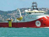 Barbaros gemisinin Güney Kıbrıs MEB'i yolunda olduğu iddiası Rum basınında