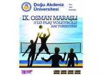 DAÜ 9. Osman Maraşlı Anı turnuvası ertelendi