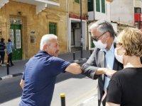 Cumhurbaşkanı Akıncı, Arasta Esnafının Sorunlarını Dinledi