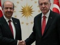 Erdoğan-Tatar görüşmesi sona erdi