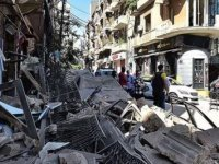 Rus ekipler Beyrut'ta enkazın altından 8 kişinin cesedini çıkardı
