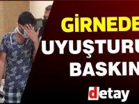 Girne'de uyuşturucu baskını