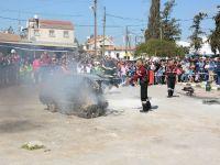 Polis İnönü'de trafik, uyuşturucu, yangın ve bomba eğitimi verdi