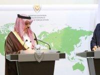 Suudi Arabistan'dan Güney Kıbrıs'a Destek