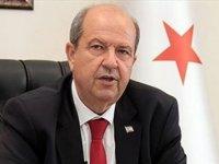 Tatar: Ne Türkiye ne de Kuzey Kıbrıs Türk Cumhuriyeti'nin Doğu Akdeniz'deki haklarının gasp edilmesine göz yummayacağım