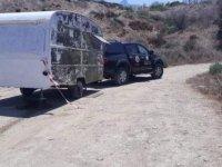 Karakum Bölgesinde Kamusal Alandaki Karavan Bölgeden Çıkartıldı