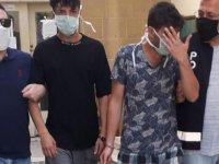 Esentepe'de yakalanan uyuşturucu zanlıları mahkemeye çıkarıldı