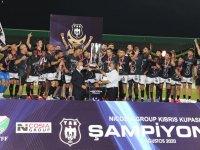 Yenicami, 2019 - 2020 futbol sezonu Kıbrıs Kupası şampiyonu oldu