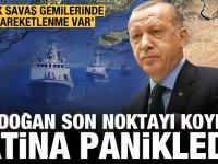 Yunan Medyası: Türk donanmasına ait gemilerde hareketlilik var!