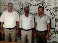 Yakın Doğu Koleji Yetkilileri Geçitkale Belediye Başkanı Hasan Özataş'ı Ziyaret Etti.